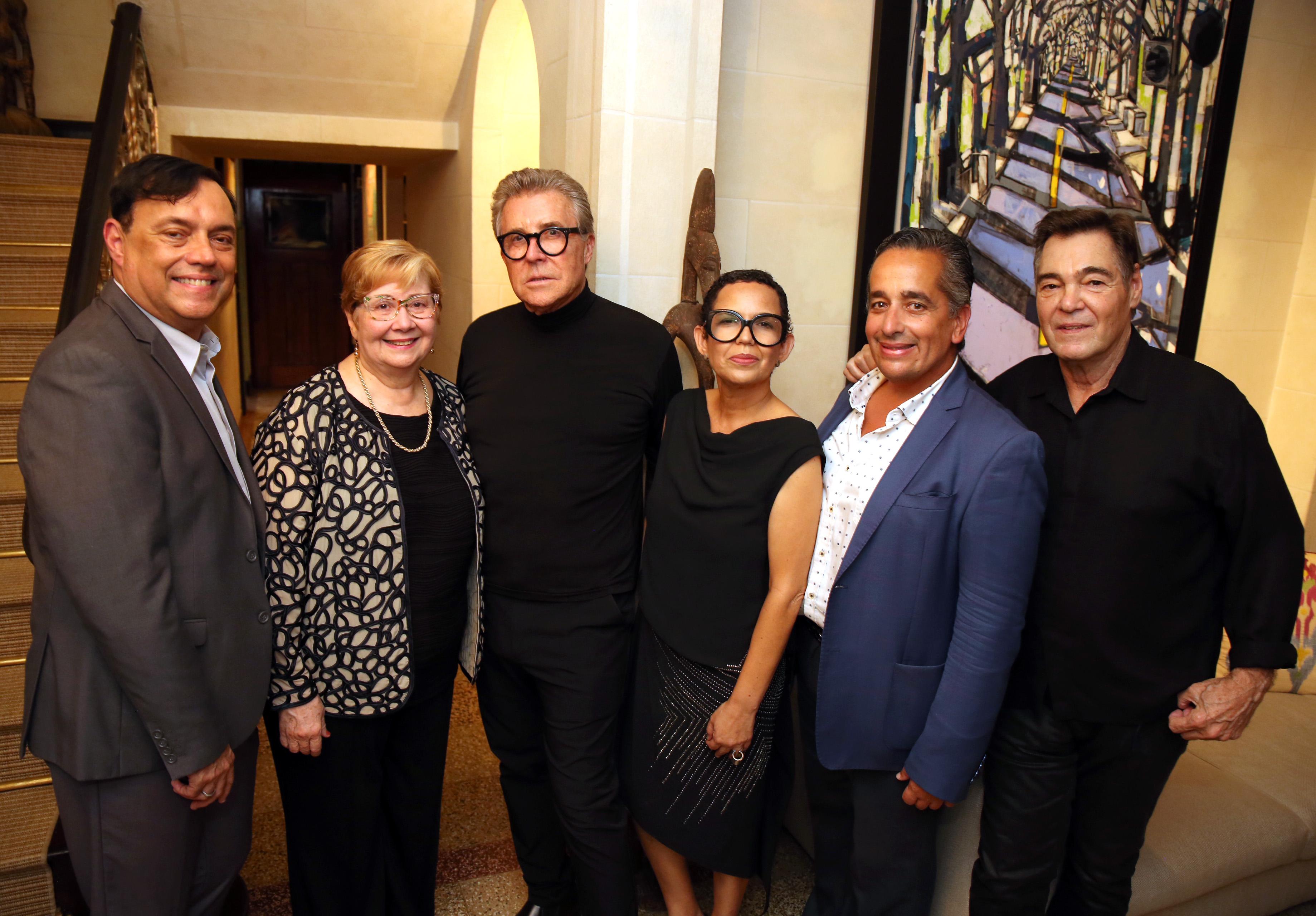 David Méndez, Carmen Ruiz de Fischler, Nono Maldonado, Aurorisa Mateo, Juan Ernesto Ayala y Polo McConnie. (José. R. Pérez Centeno)