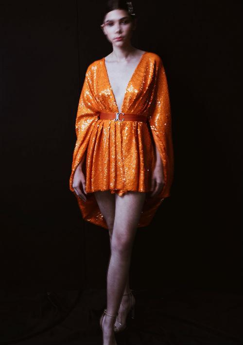 Jean Cintrón se inspiró en las tendencias que prediminaron en los años 80. (Foto: Suministrada)