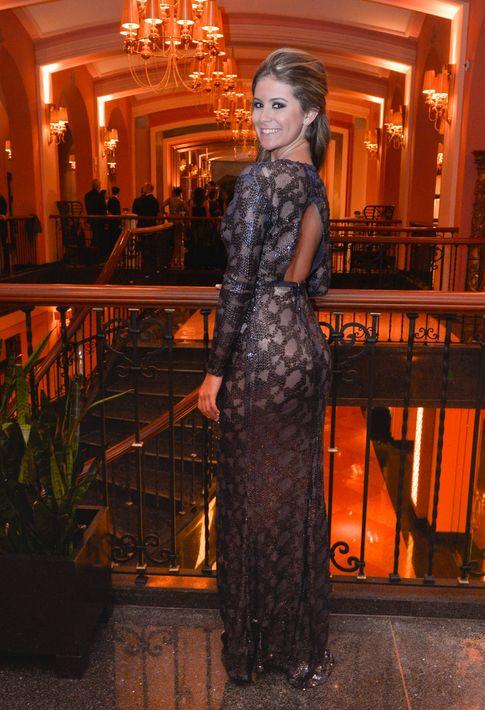 Gabriela Cerame en el Prom Night de la Commonwealth-Parkville School en el hotel Condado Vanderbilt.