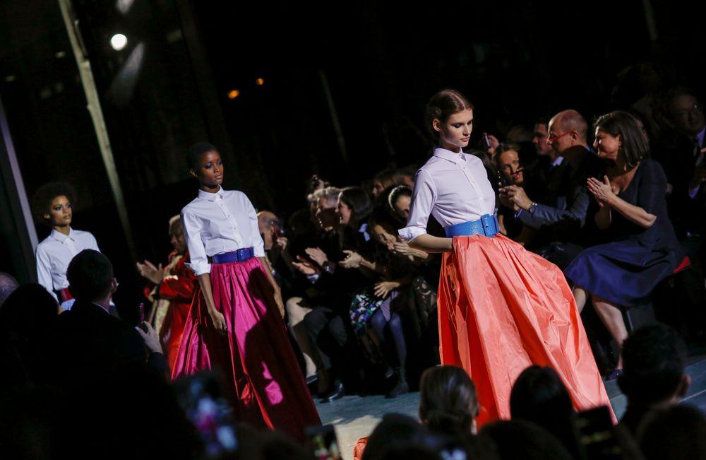 Desfile de Carolina Herrera durante la Semana de la Moda de Nueva York. (Foto: EFE)