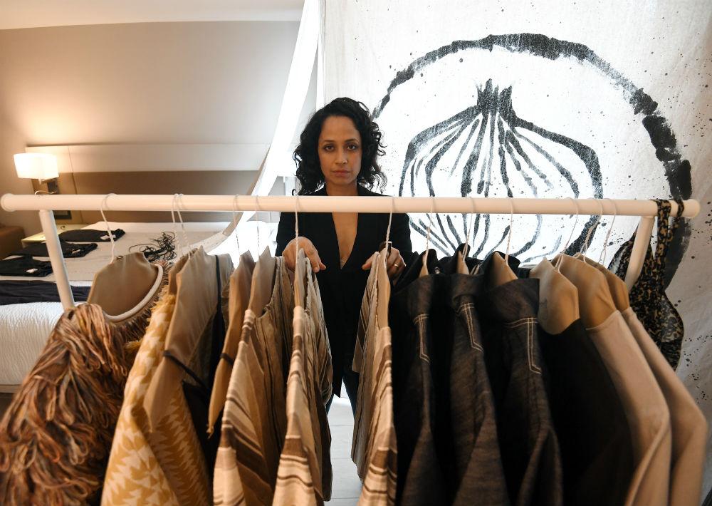 La actriz Aris Mejía es la diseñadora de la línea Skin Onion. (Foto: André Kang)