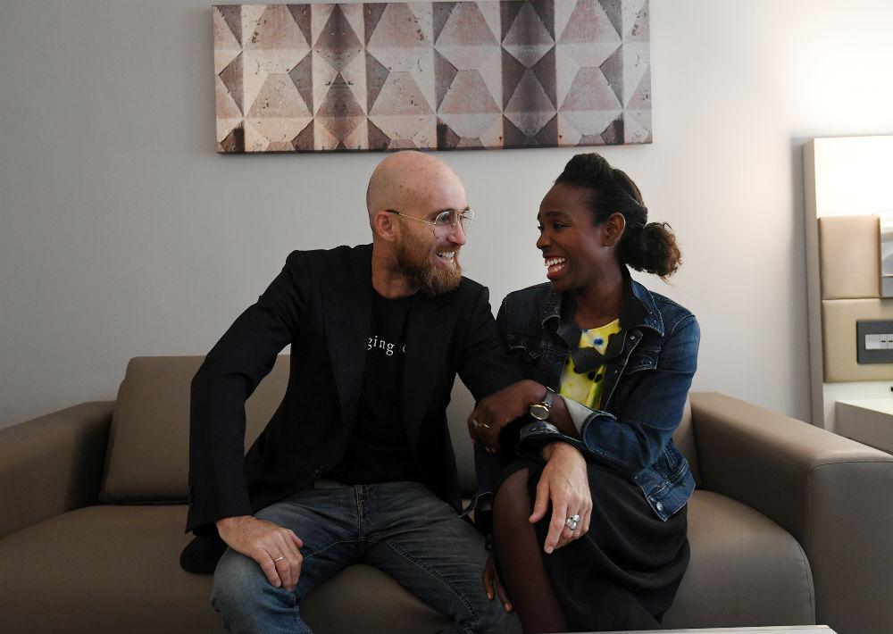 Luis Vidal e Ivonne Cárdenas son los creadores del concepto Changing Room. (Foto: André Kang)
