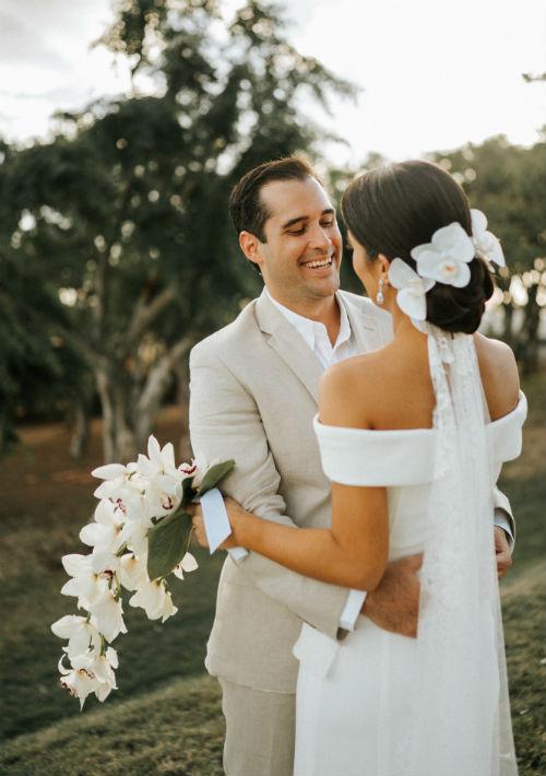 Vestido de la novia Rosa Clará. (Suministrada)