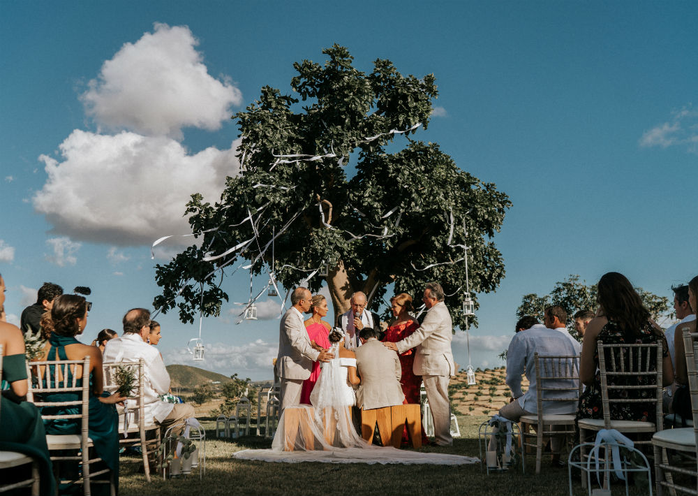 Arreglo personal de la novia: Javier Moreno. (Suministrada)