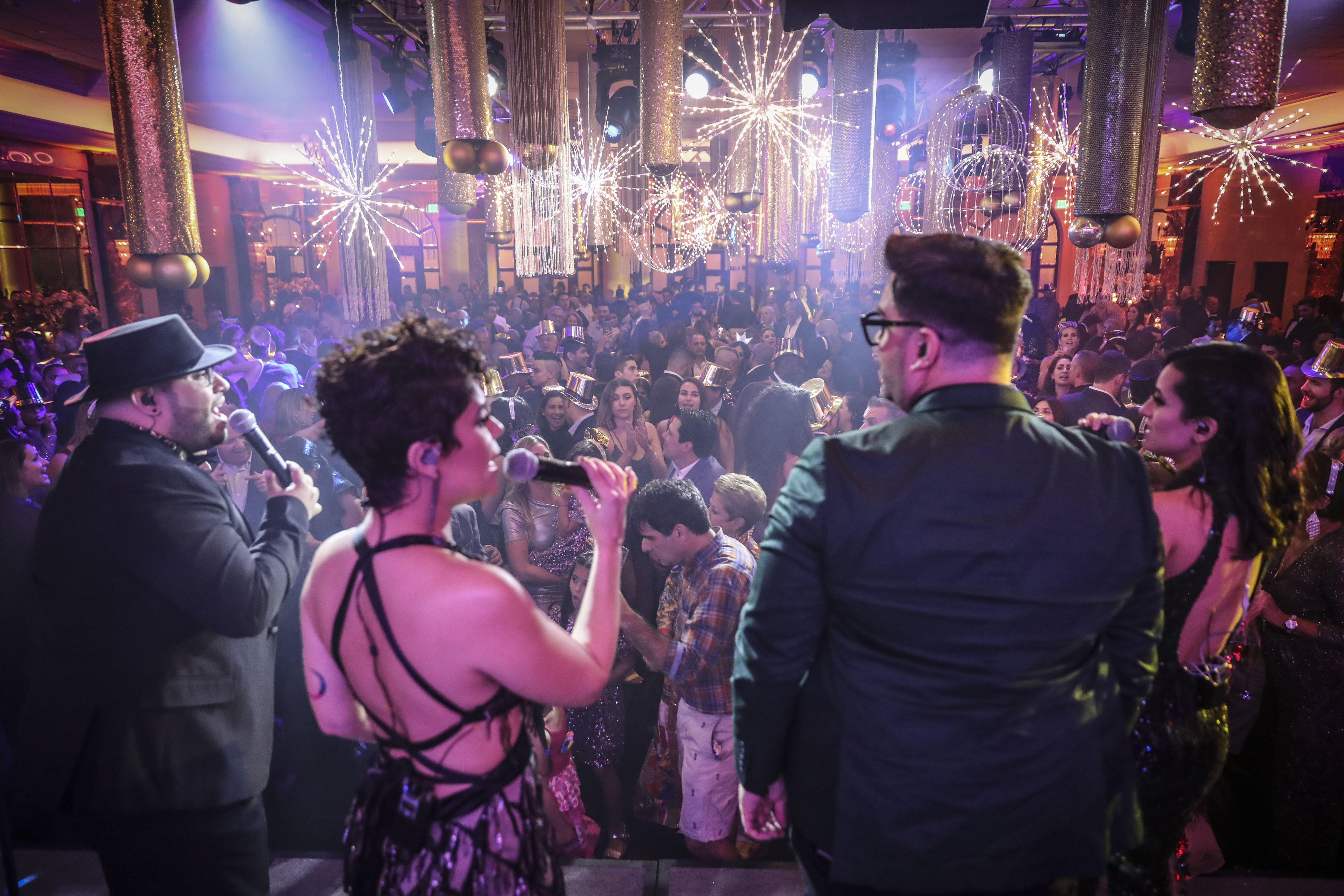La fiesta contó con el entretenimiento musical de José Nelson y su Cuenta Regresiva All Star Band y DJ Gulembo. (Suministrada)