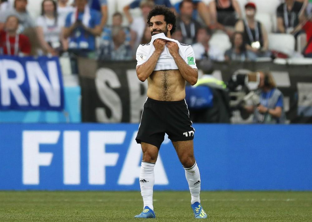 El egipcio Mohamed Salah. (EFE)