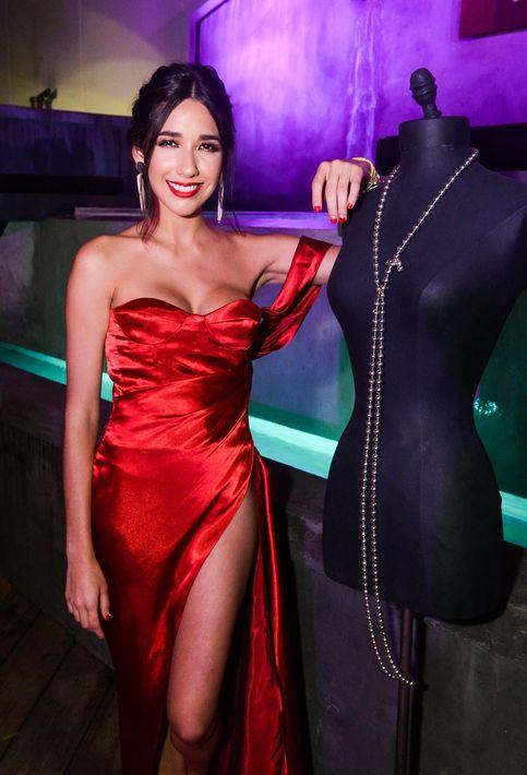 Frances Estrada quiso disfrutar con todos los lujos de la compañía de su familia y amistades de la industria de la moda que la han apoyado en su vida personal y en sus cinco años como bloguera. Foto Enid M. Salgado Mercado.