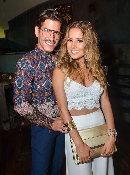 Carlos Aponte y Gabriela Quiñones. Foto Enid M. Salgado Mercado.