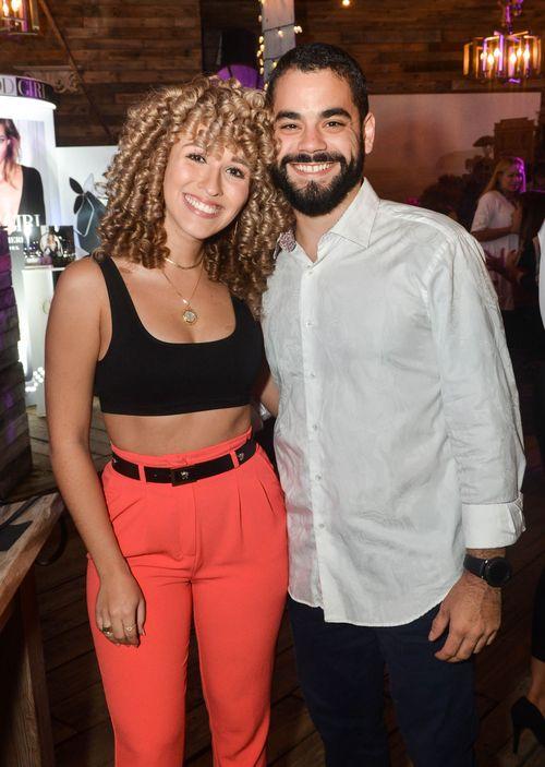 Gabriela Quiñones y Carlos Aponte. Foto Enid M. Salgado Mercado.