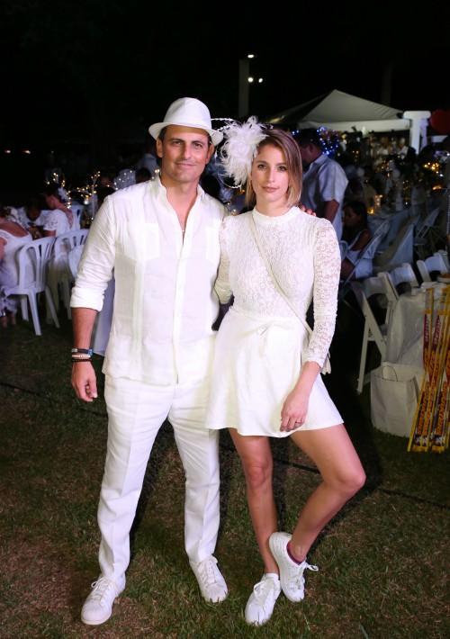 Alejandro Uriarte y Angélica Medina. (José R. Pérez Centeno)