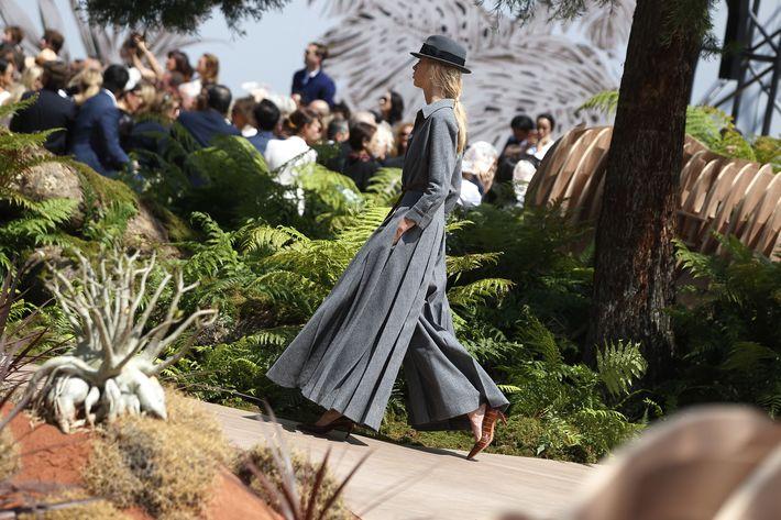 Colección otoño-invierno 1017/2018 de Dior presentada en la Semana de la moda de París.