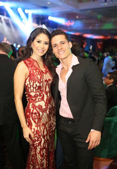 Danna Hernéndez y Alan Cruz. Foto: José R. Pérez Centeno
