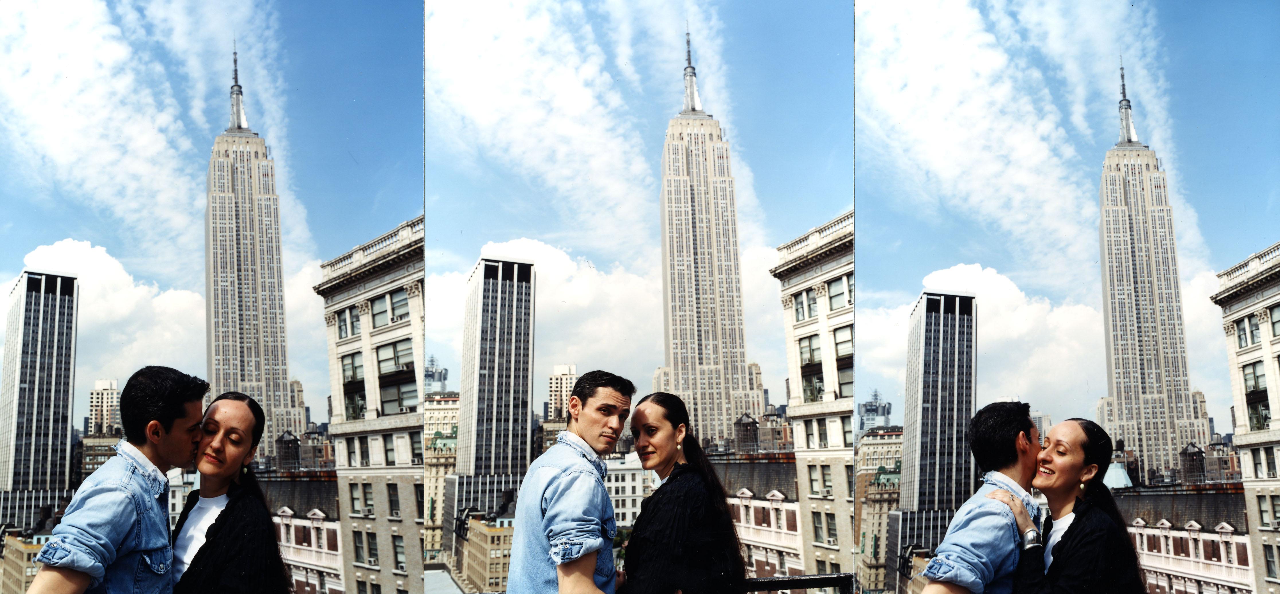 """""""La vida es una danza"""", dijo en entrevista con Magacín en el 2011, """"Cuando escoges un compañero, siente la música, no trates de anticipar los pasos, entrégate a tu instinto y tú misma te sorprenderás. Esa es la receta segura para el amor"""". (Foto: New York Kiss, de Randall Bachner)"""