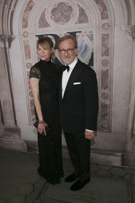 Kate Capshaw y Steven Spielberg (AP)