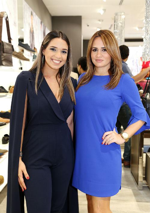 Amanda Fuentes y Katia Ávila (Foto: Nichole Saldarriaga)