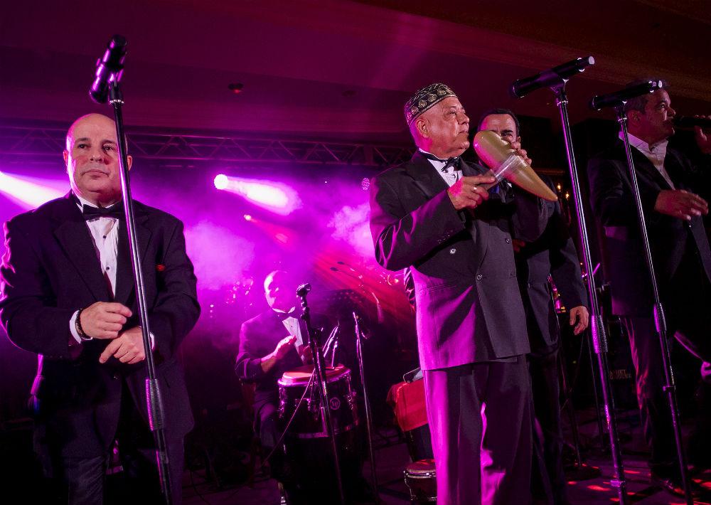 La Sonora Ponceña fue uno de los conjuntos musicales invitados. (Foto: Xavier García)