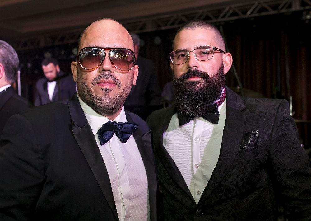 Walter Otero y Bobby Cruz. (Foto: Xavier García)