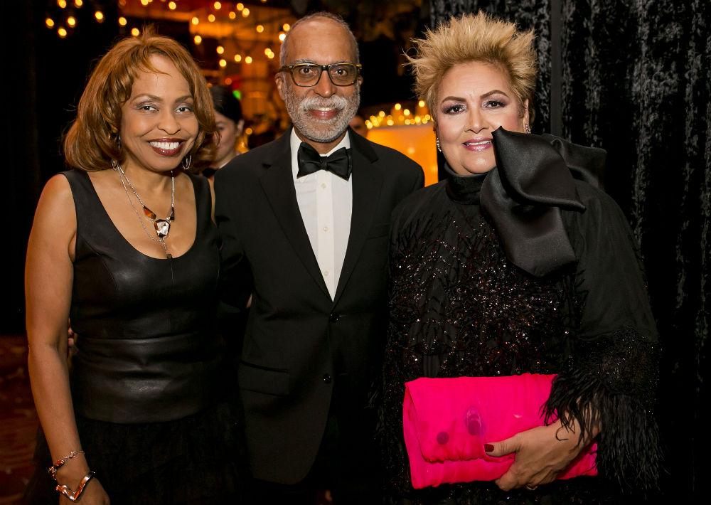 Kim Goodwan, José Figueroa y Sylvia Villafañe. (Foto: Xavier García)