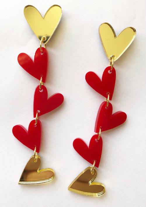Pantallas de corazón de M3, disponibles en www.m3bymonica.design  (Foto: Suministrada)