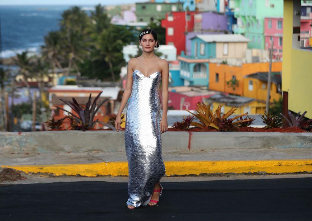 El brillo deslumbró tanto en faldas como en vestidos. (Foto: Juan Luis Martínez)