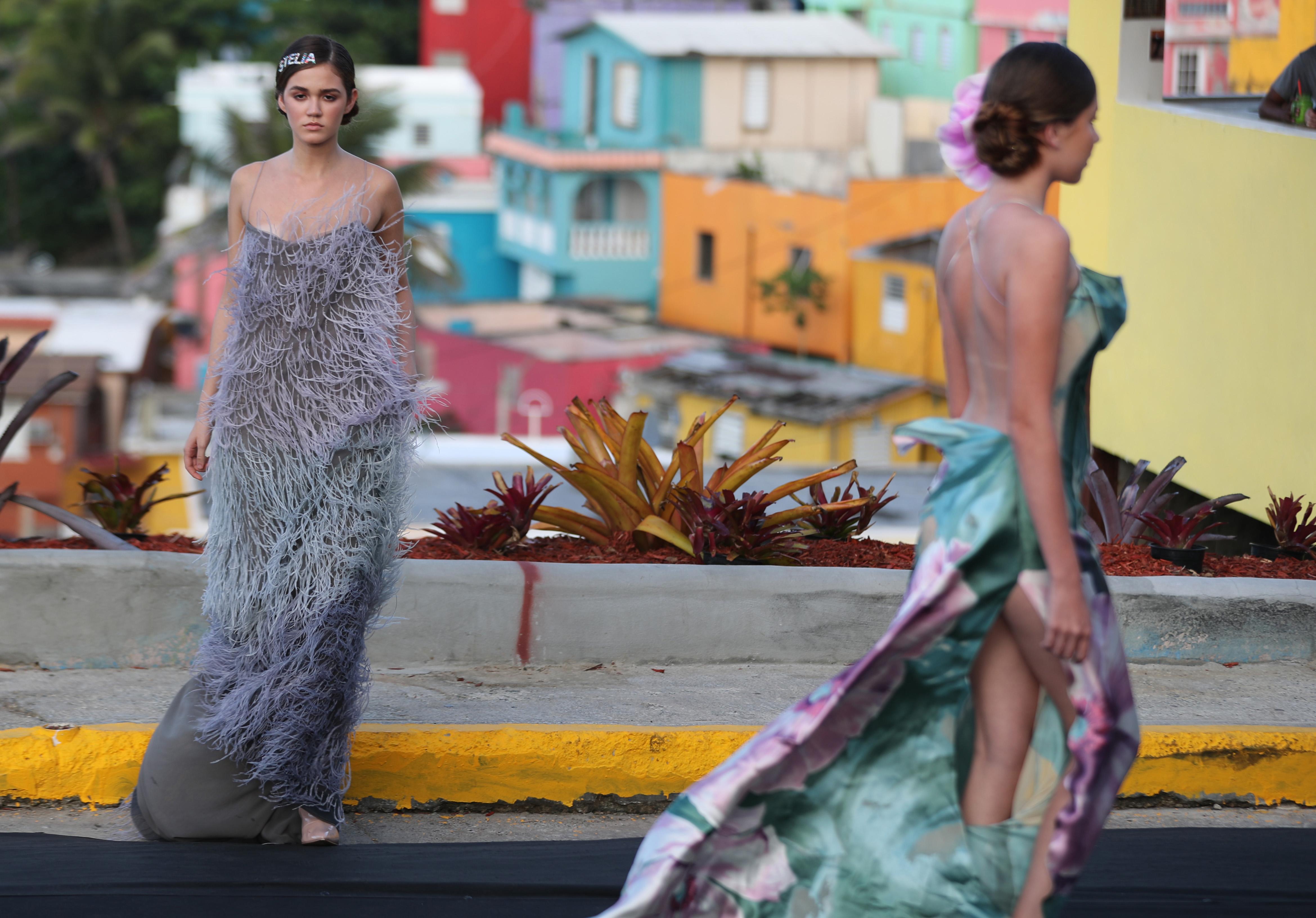 Stella Nolasco se apoderó de La Perla con su desfile de moda. (Foto: Juan Luis Martínez)