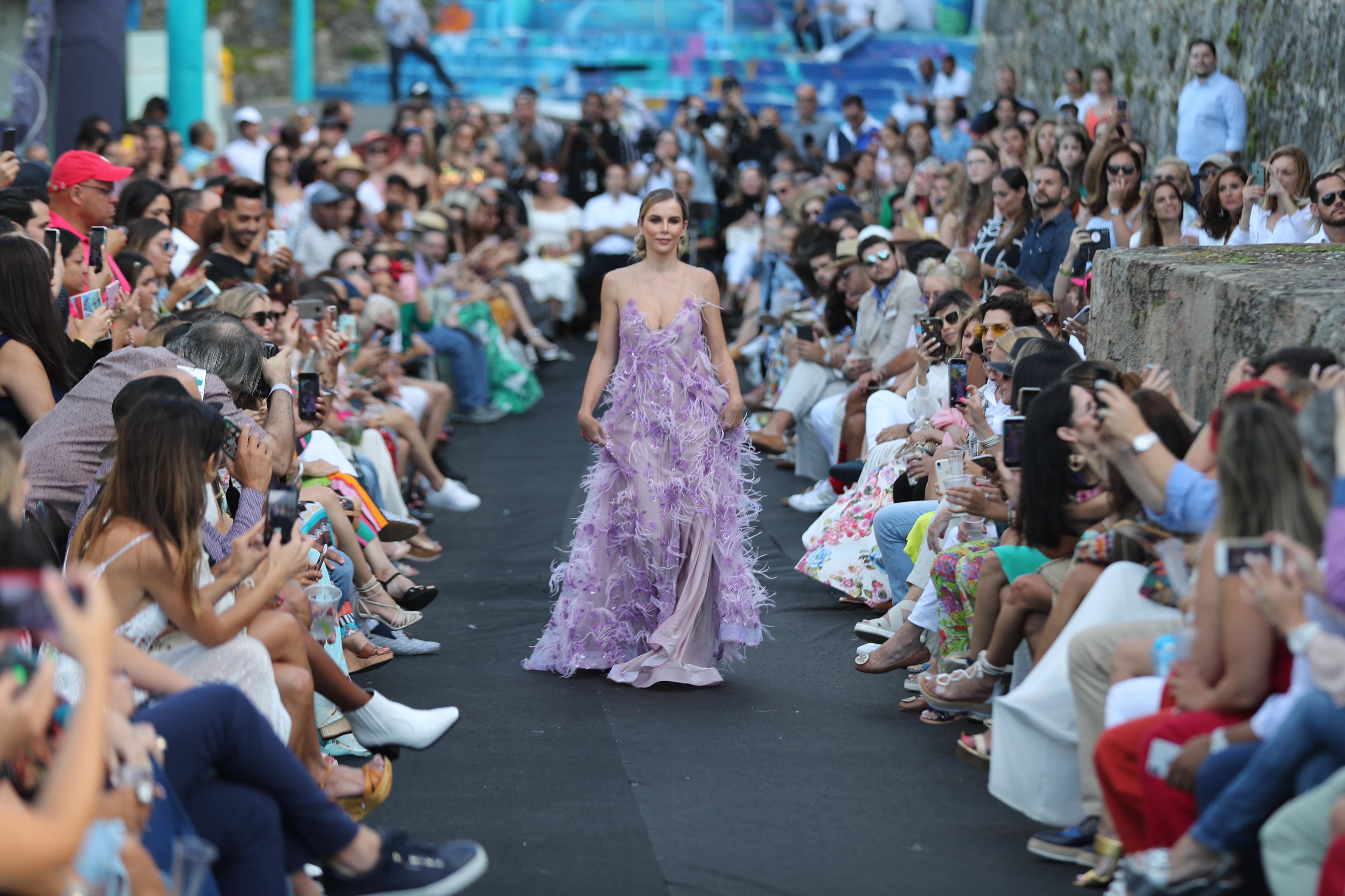 El desfile contó con la participación de la modelo española Agueda López, esposa de Luis Fonsi. (Foto: Juan Luis Martínez)