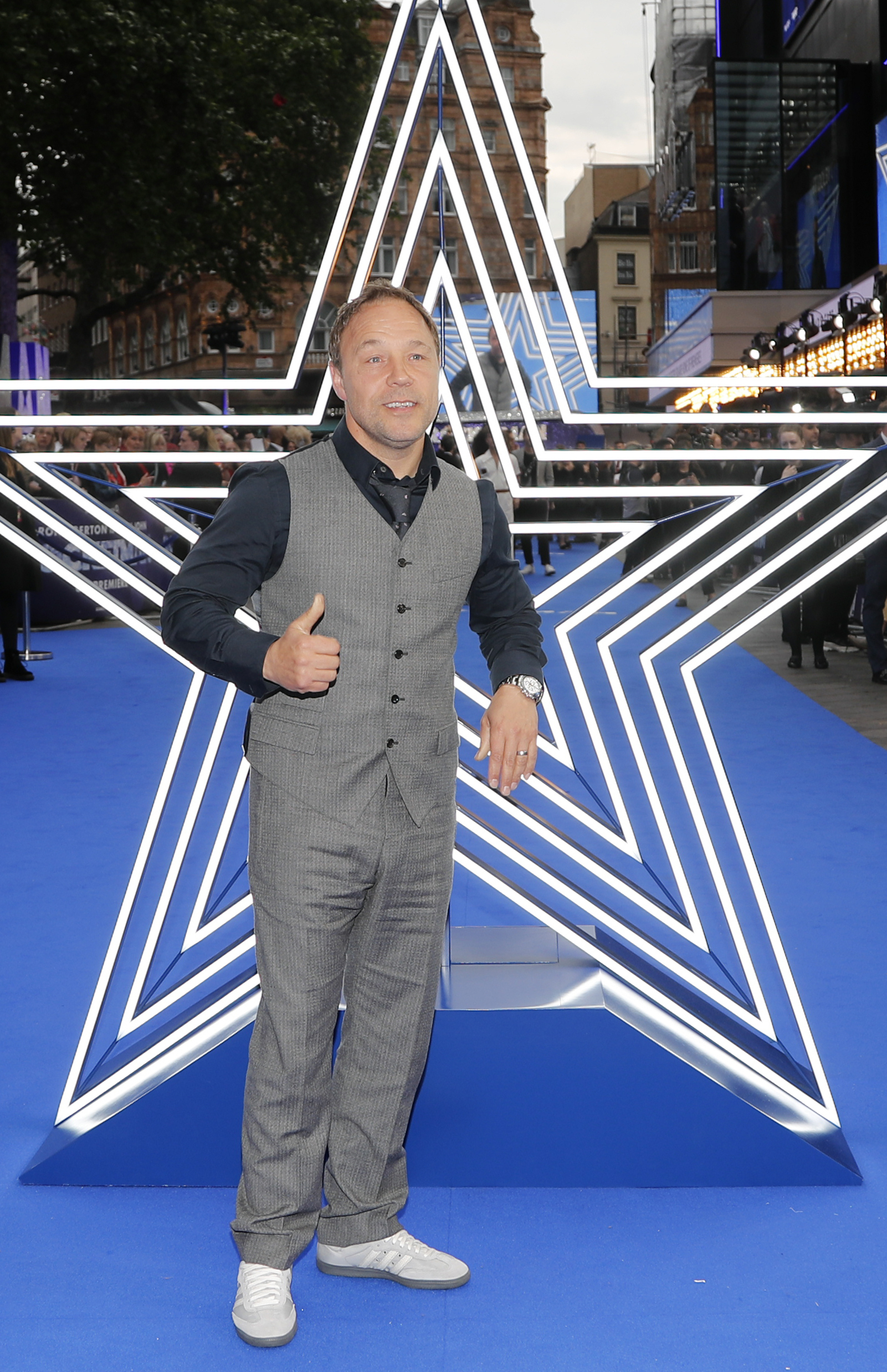 El actor Stephen Graham. (AP Photo/Frank Augstein)
