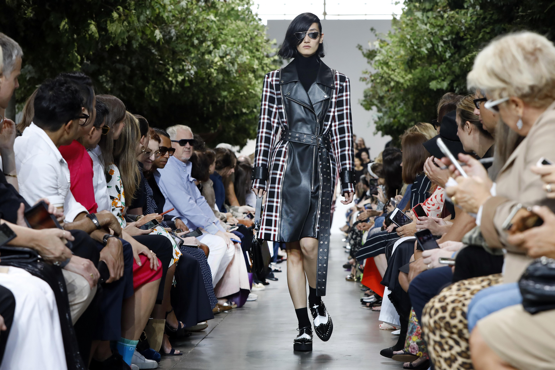 Propuesta de Michael Kors en la Semana de la Moda de Nueva York. (AP)
