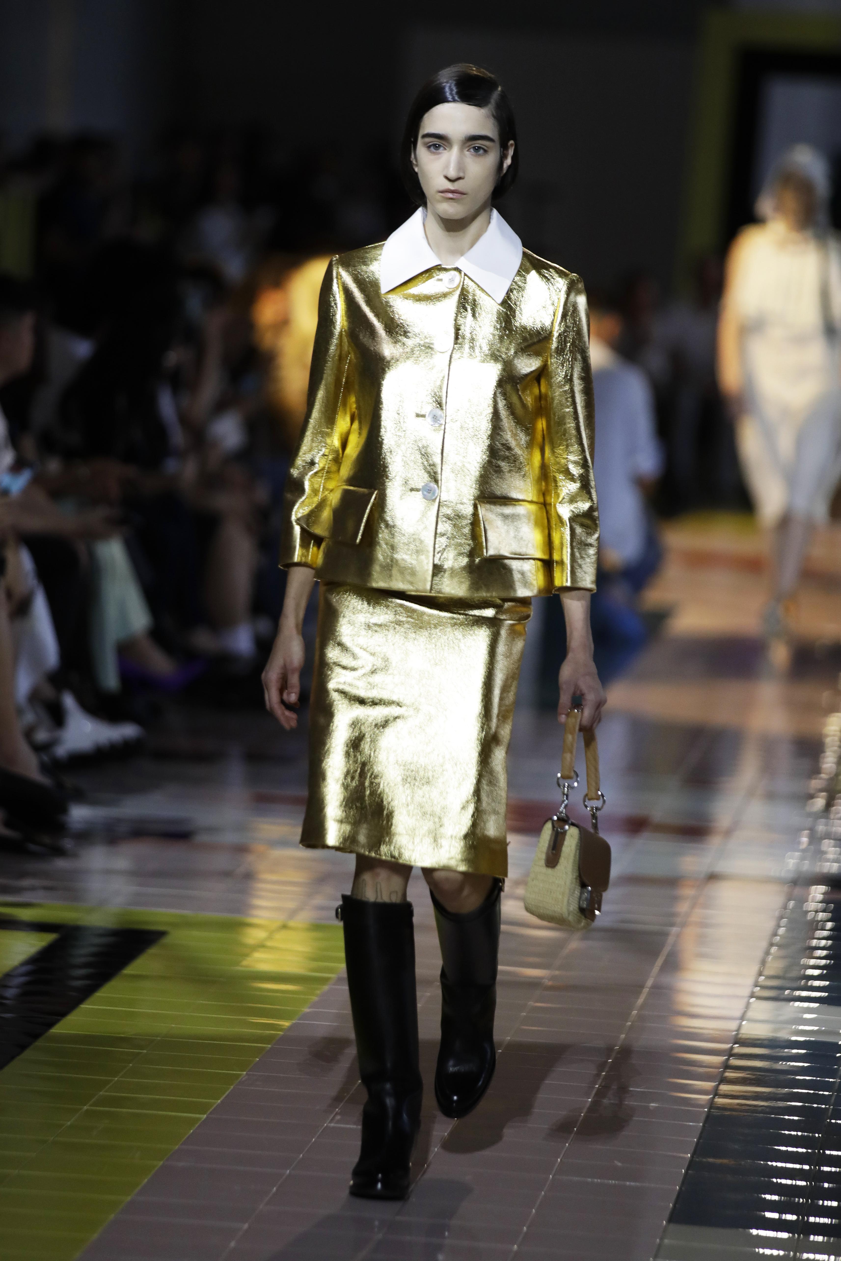 Colección de Prada presentada en la Semana de la Moda de Milán con tendencias para la temporada de primavera-verano 2020. (AP)