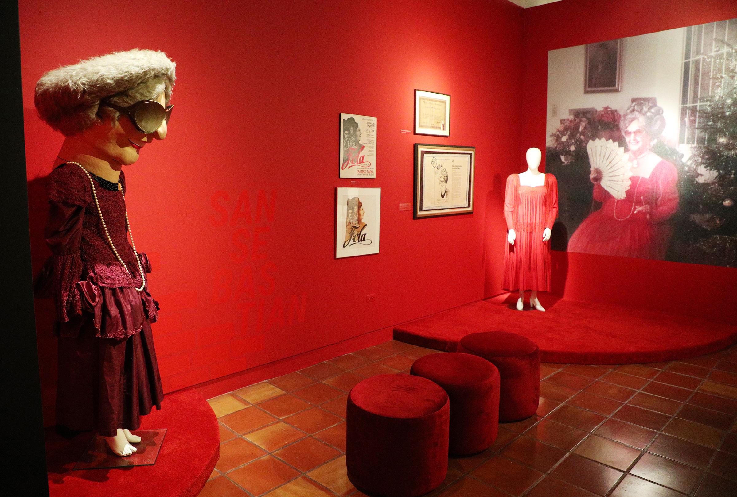 """La exposición """"Icono de la moda"""", que abrió al público esta semana en el Museo de San Juan. (Foto: Juan Luis Martínez)"""