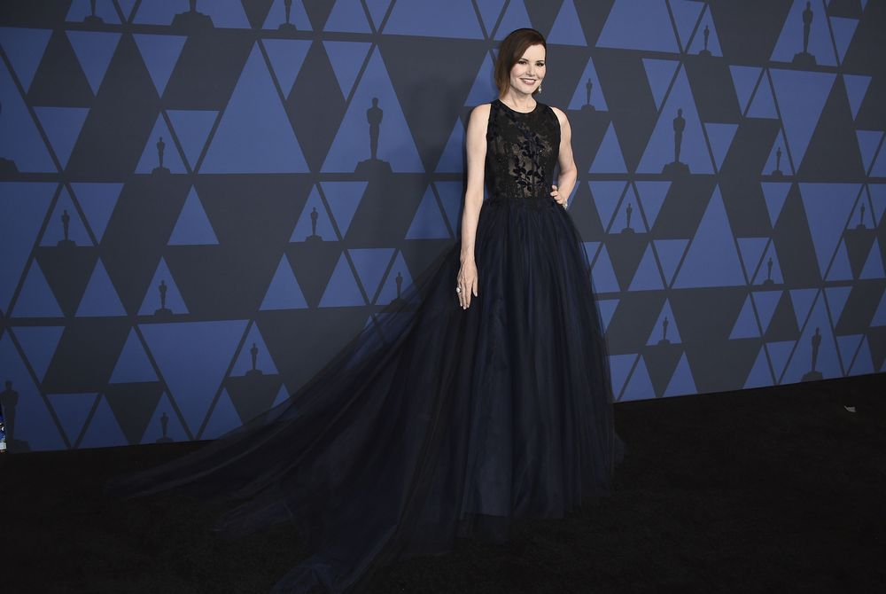 Geena Davis de Romona Keveza. Foto Jordan Strauss/Invision/AP
