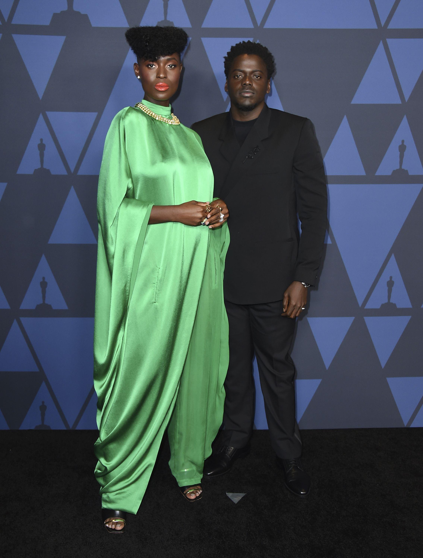 Jodie Turner-Smith y Daniel Kaluuya. Foto Jordan Strauss/Invision/AP