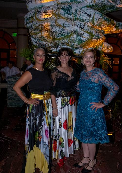 Enery Ortíz, Vanessa Taulé y Lymari Fontanillas. (Ricky Reyes/ Especial para Magacín)
