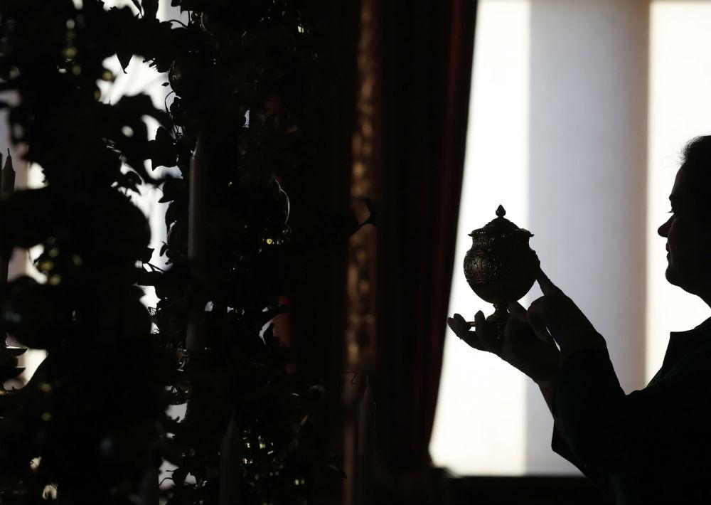 Se espera que la reina pase algunos días del mes de diciembre en este castillo que es una de sus propiedades de fin de semana. (Foto: AP)