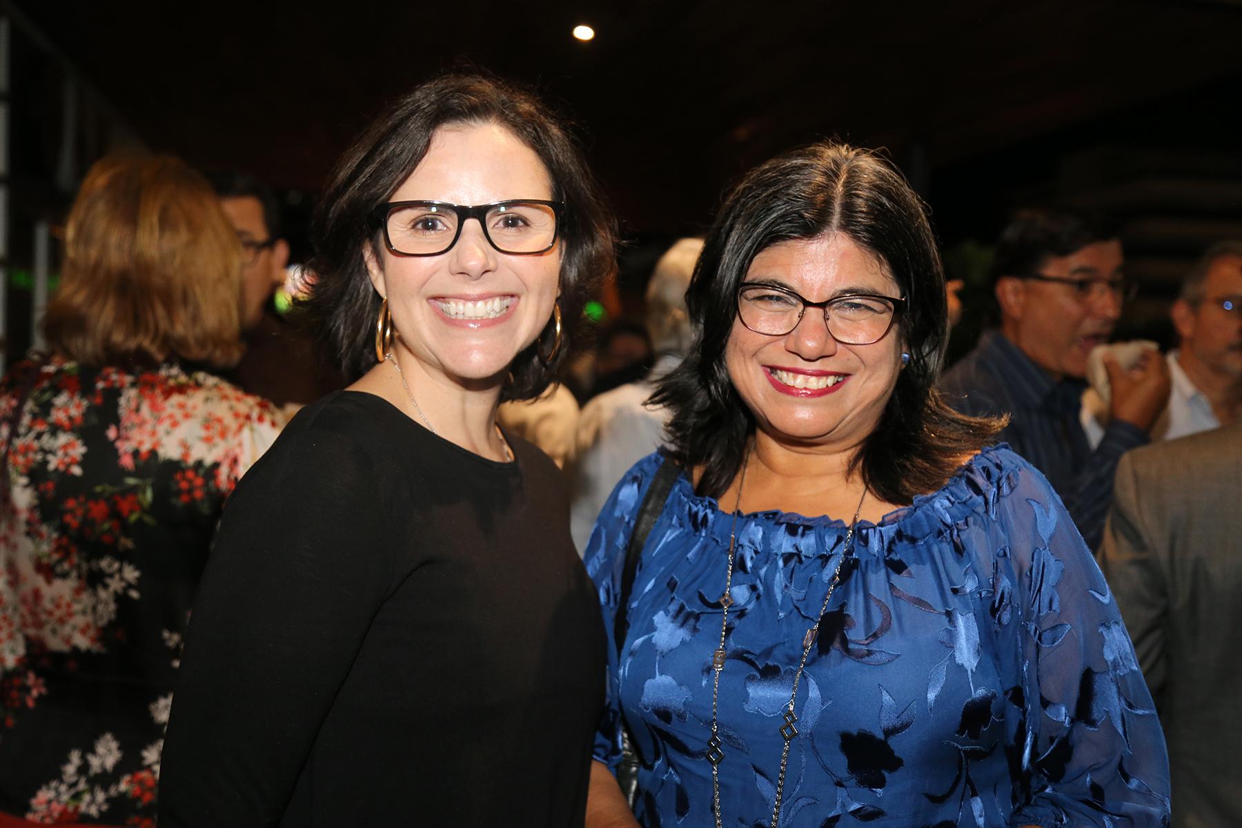 María Cristina Moreno y Sandra Villarrael. (Foto: Nichole Saldarriaga)
