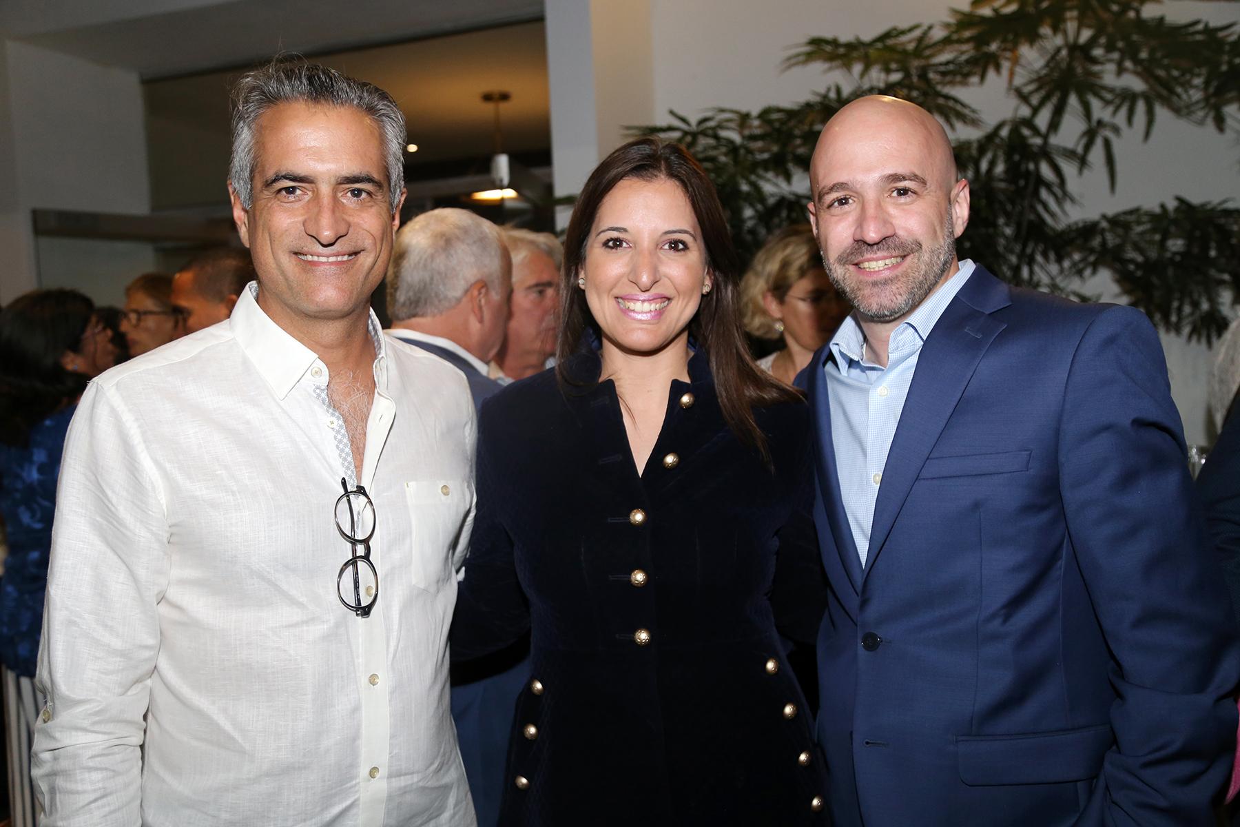 Luis Alberto Ferré Rangel, Anabelle Torres y Tomás Román. (Foto: Nichole Saldarriaga)