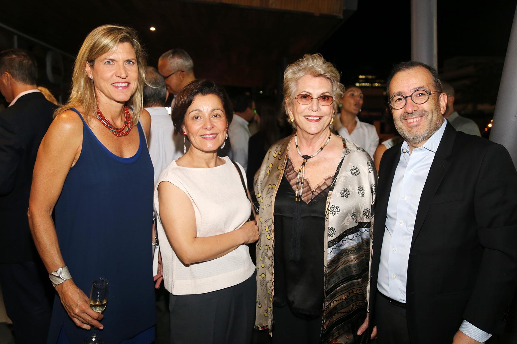 Kiki Rivera, Margot Marchand, Luisa Rangel de Ferré y Jorge Cabezas. (Foto: Nichole Saldarriaga)