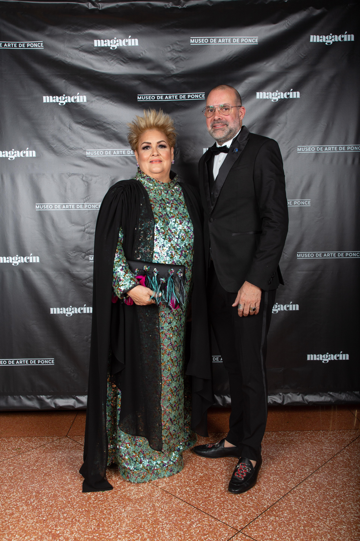 Sylvia Villafañe y David Antonio (Jorge A. Ramírez Portela)