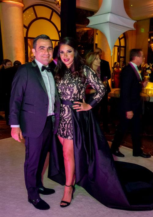 Francisco Feliú y Viviana Mercado (Ricky Reyes)
