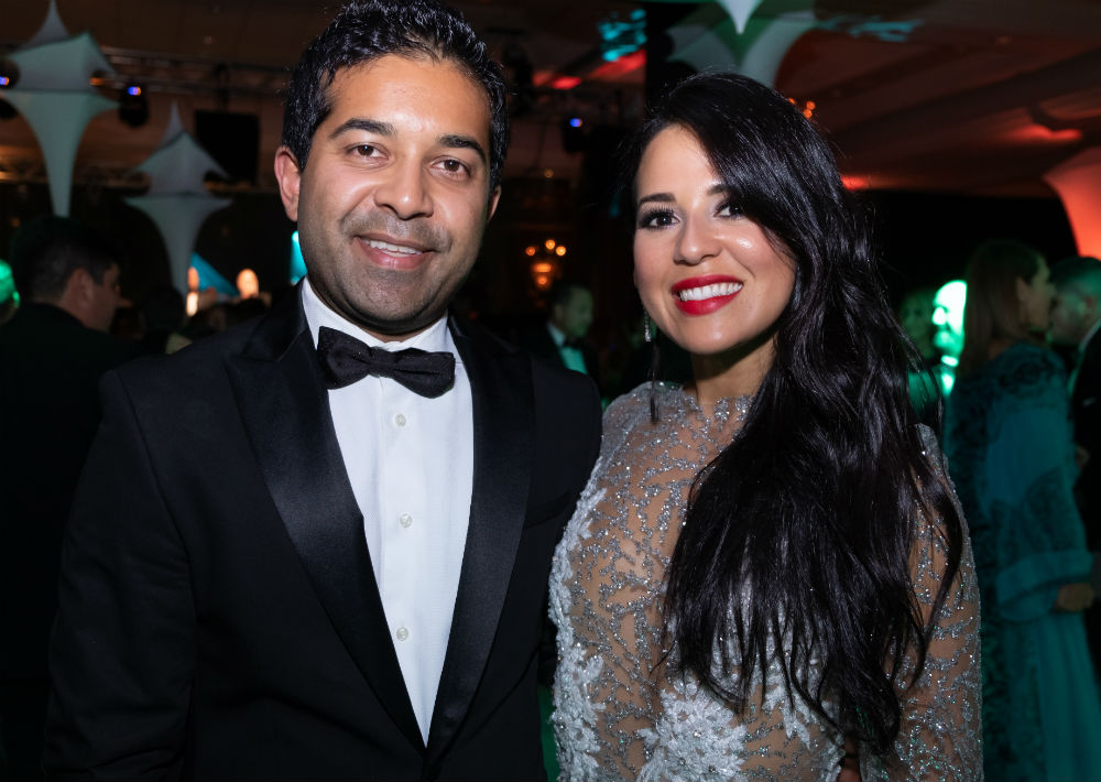 Fahad Ghaffar y Glendaliz Acevedo (Ricky Reyes)