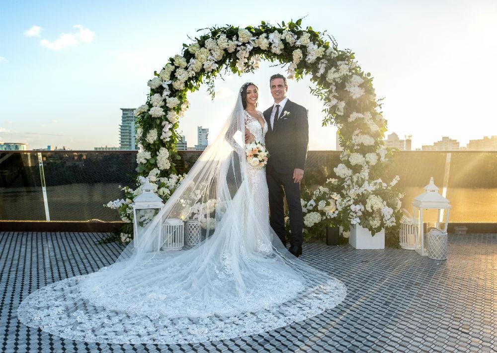 La pareja disfrutará de su luna de miel en Argentina. (Emilio León Photography)