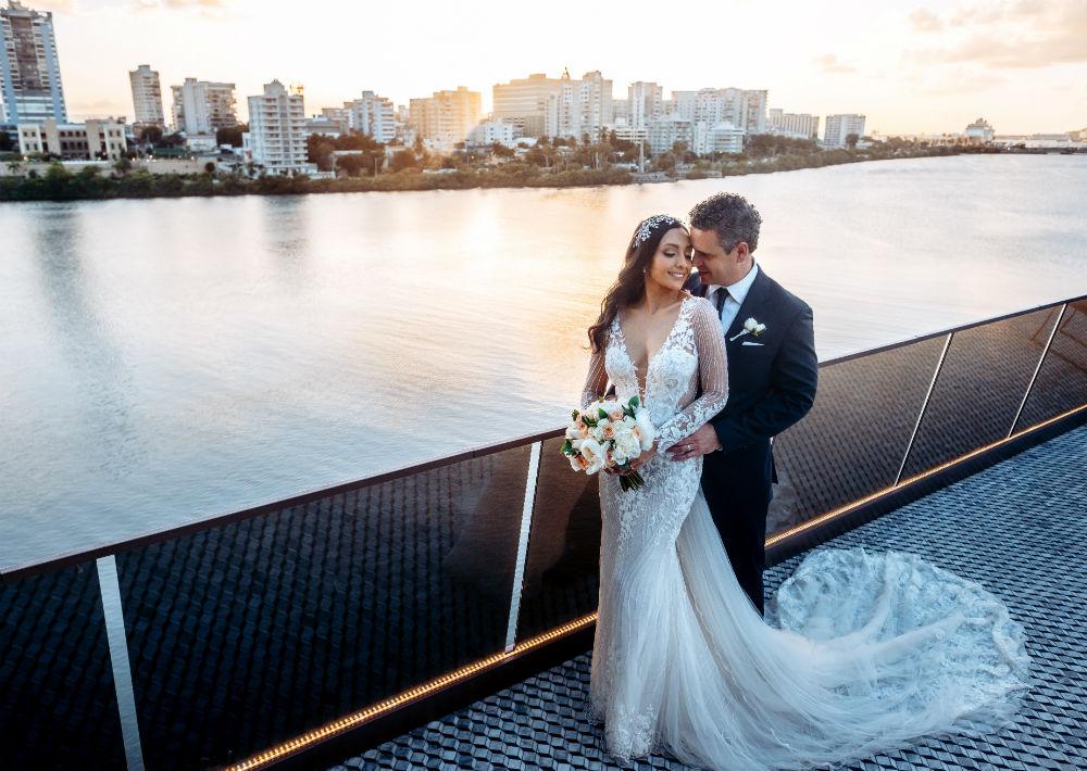En las imágenes de la boda se pueden apreciar la emoción y la felicidad de ambos. (Emilio León Photography)