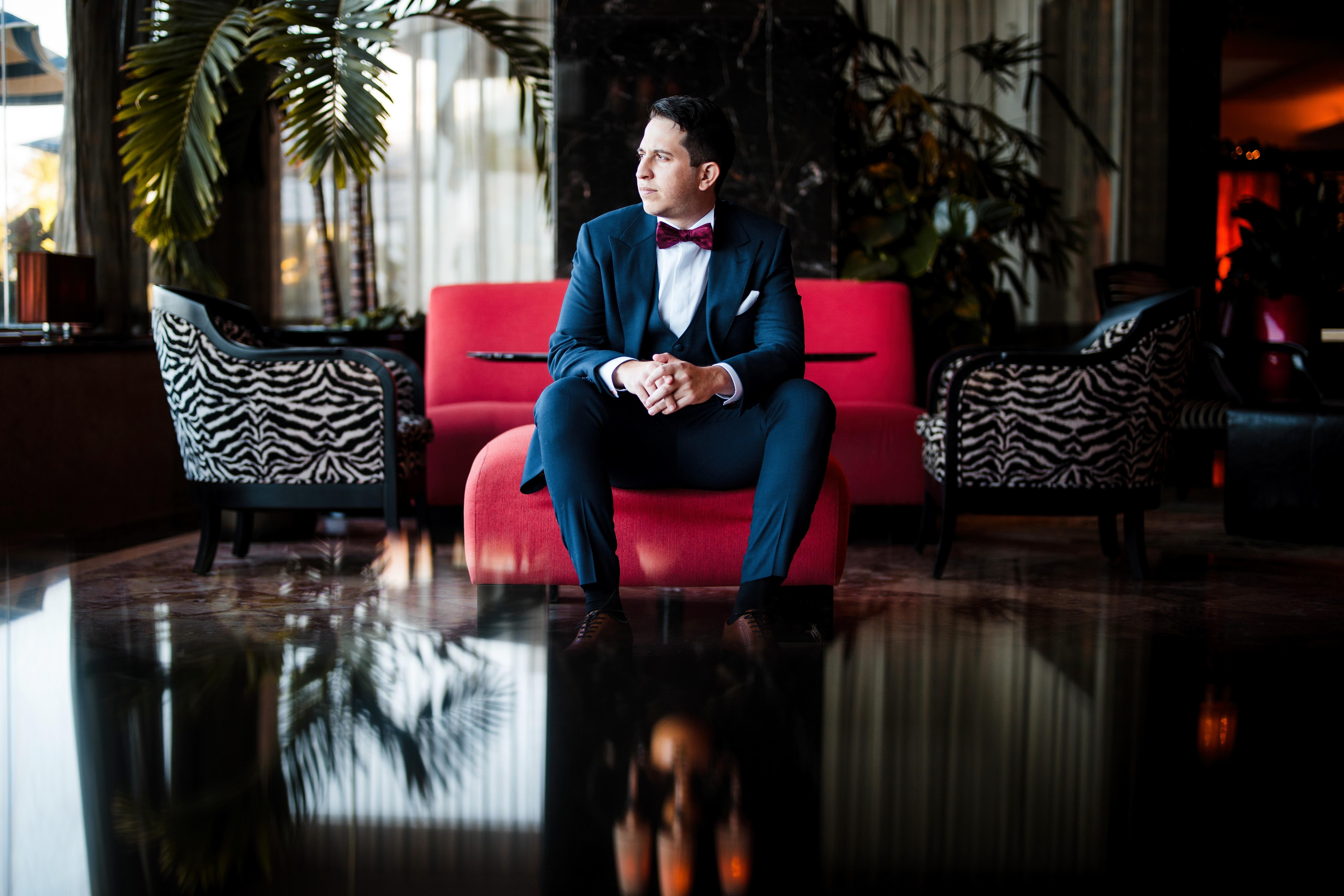 Atuendo del novio: Leonardo Cordero. (Foto: William De La Cruz)