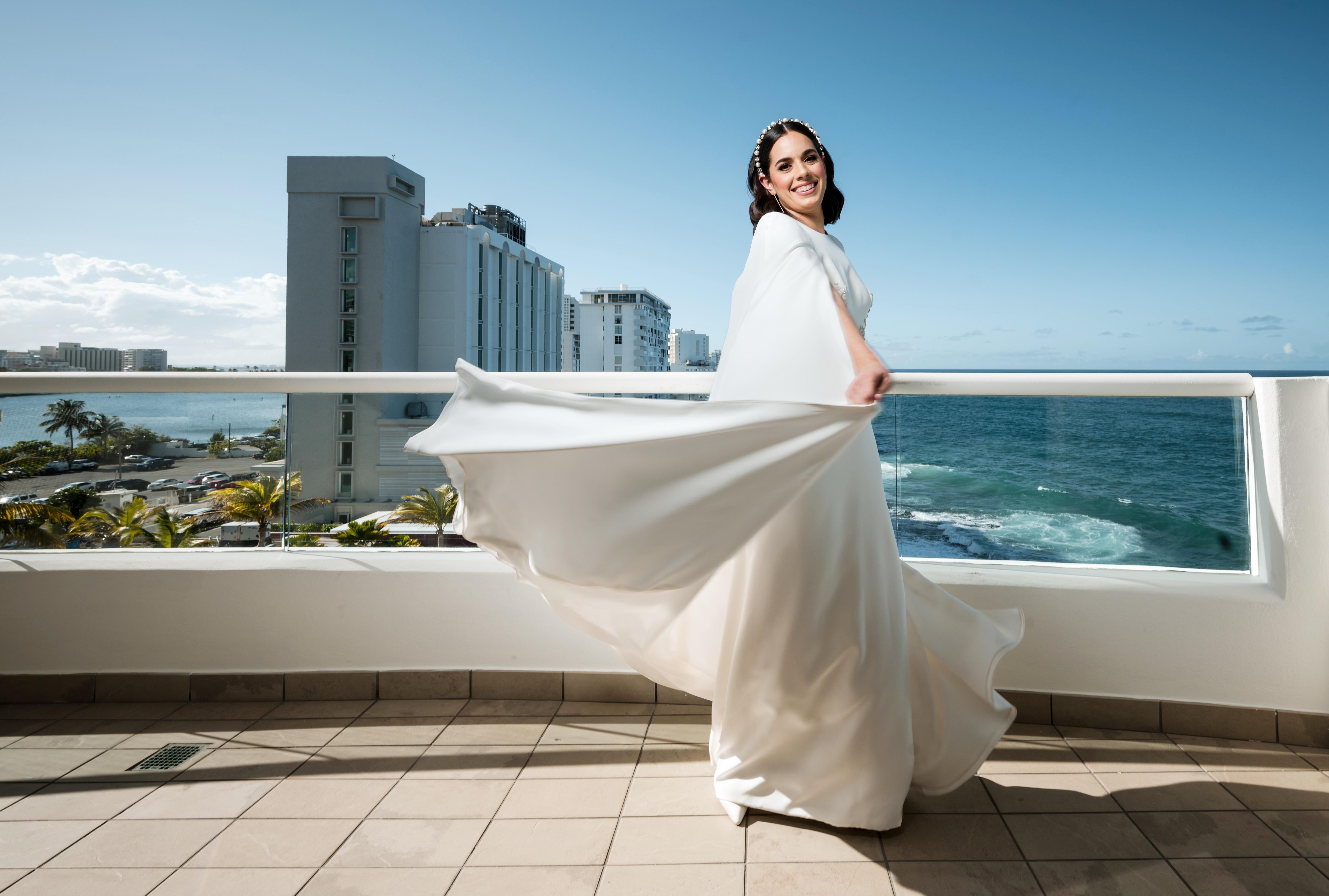 Vestido de la novia: Harry Robles. (Foto: William De La Cruz)