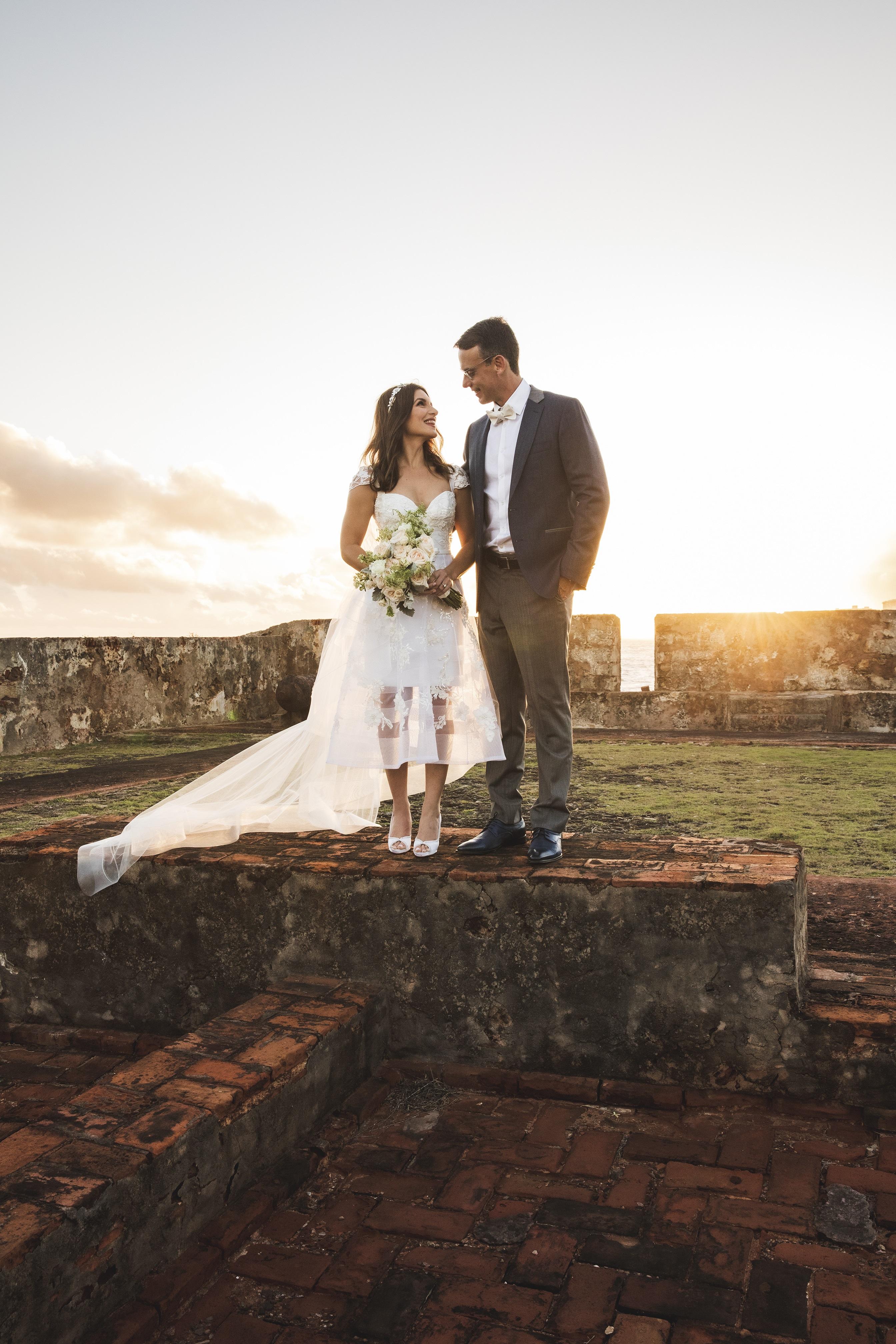 Vestido de la novia: Harry Robles. (Foto: Wedding Mafia)