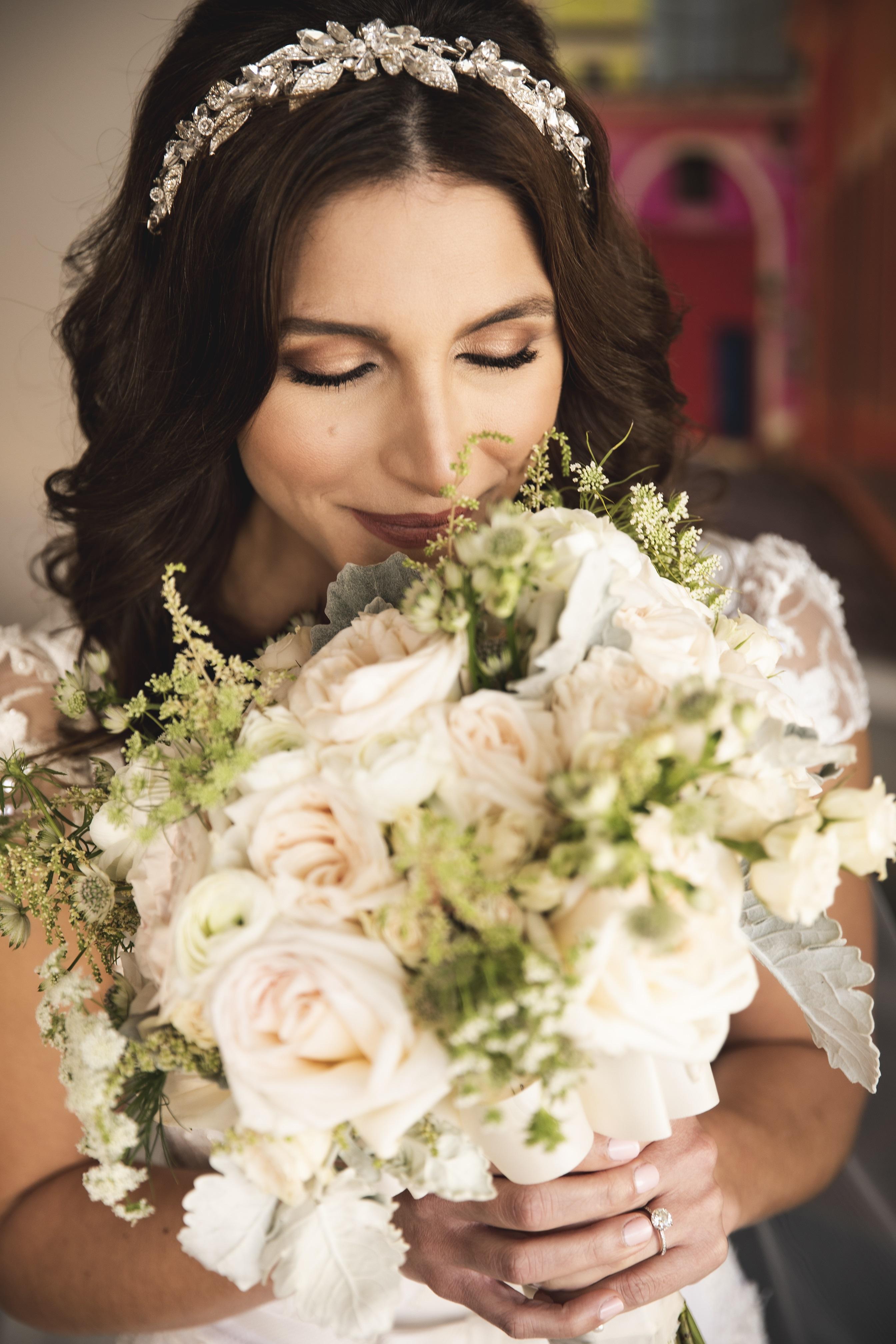 Ramo de la novia: Lee Ann Medina. (Foto: Wedding Mafia)