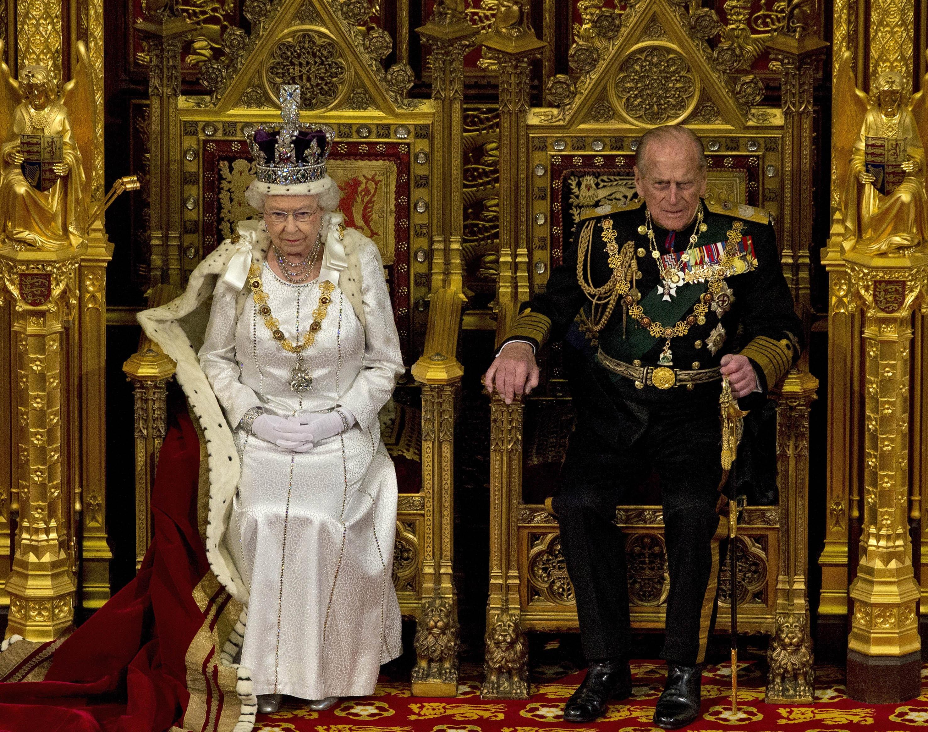 El príncipe Philip era el consorte monárquico más longevo de la Corona británica, con más de setenta años junto a la reina Elizabeth II. (AP)