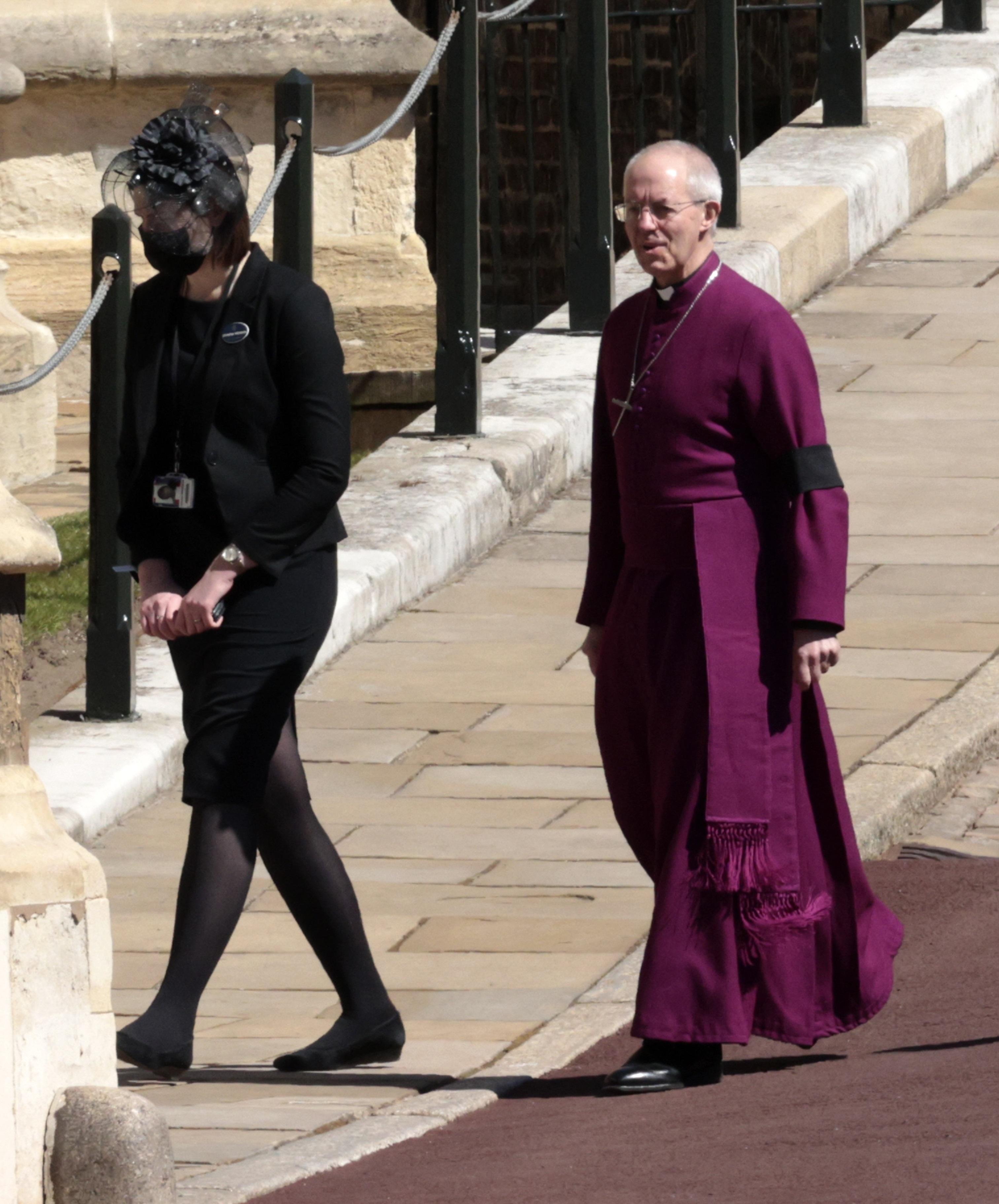 La misa fue oficiada por el arzobispo de Canterbury, Justin Welby. (AP)