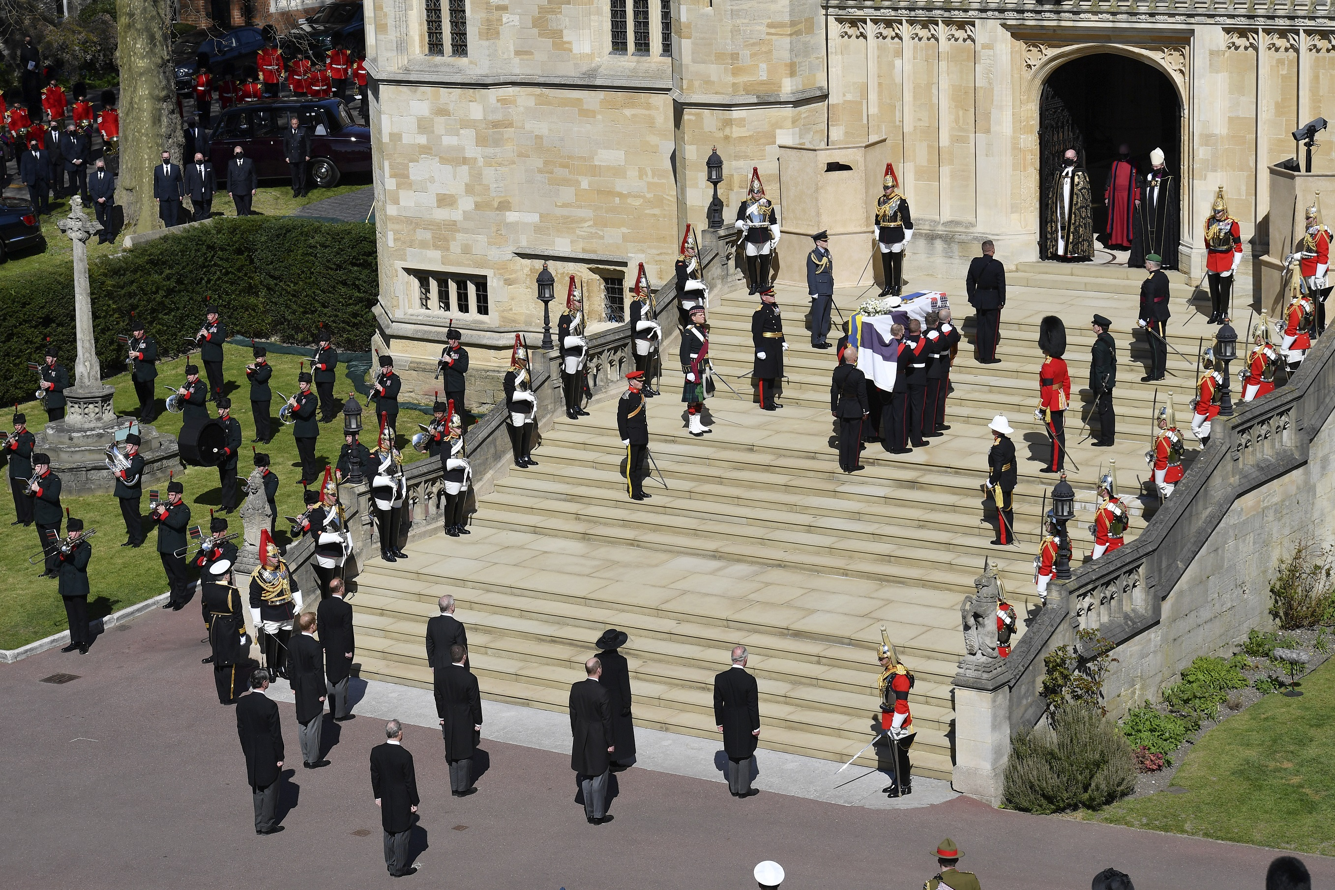 El príncipe decidió que su funeral sería uno de carácter militar y no de estado. (AP)