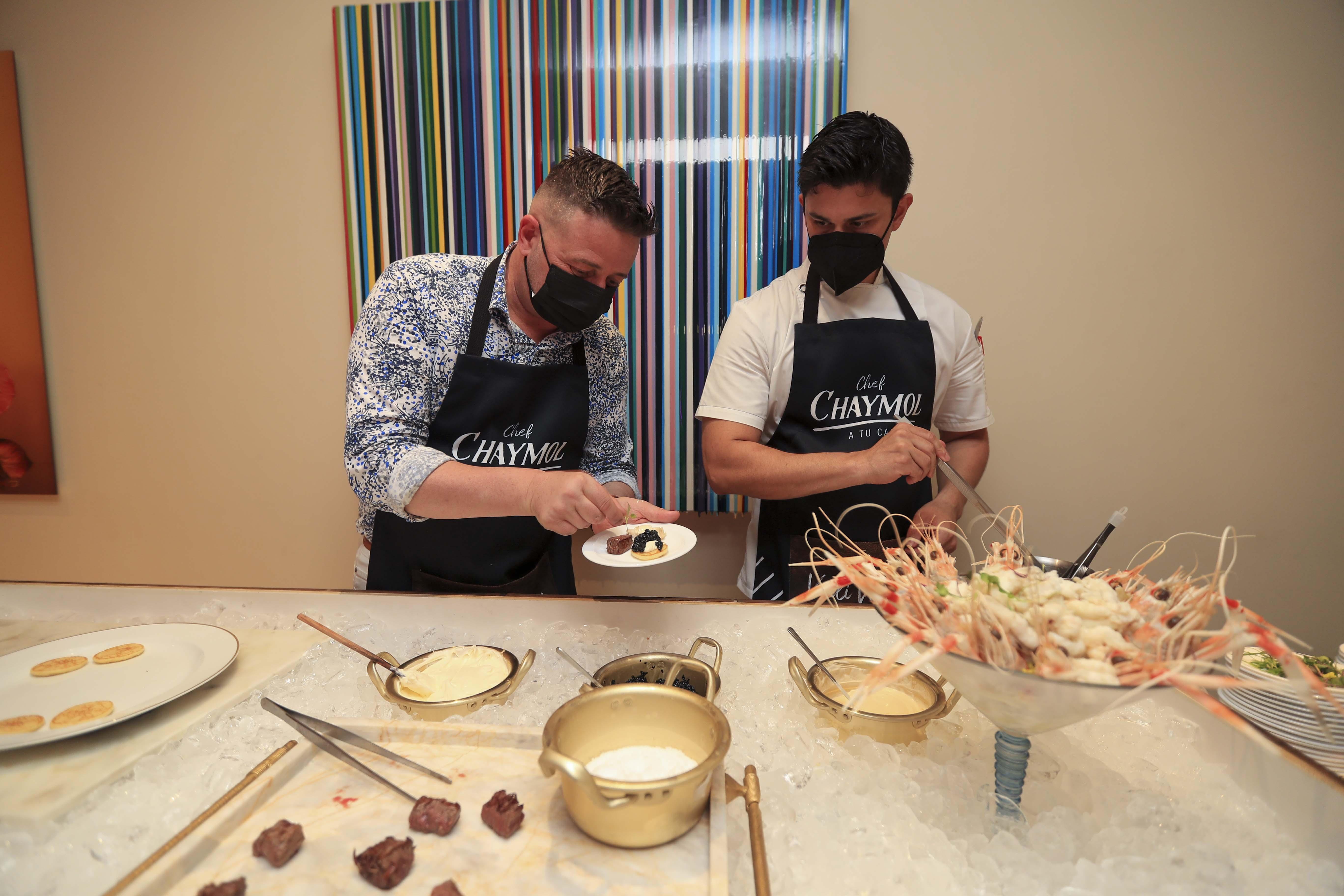 La experiencia gastronómica estuvo a cargo del chef francés, David Chaymol. (Wanda Liz Vega)